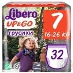 Підгузники-трусики LIBERO Up<(>&<)>Go 7 32 шт.