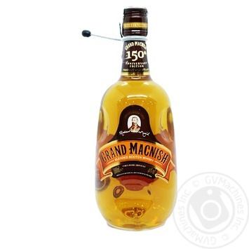 Виски Grand MacNish Blended 3года 40% 1л - купить, цены на Фуршет - фото 1