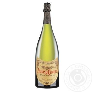 Вино ігристе Juve y Camps Reserva de La Familia біле брют 12% 3л - купити, ціни на CітіМаркет - фото 1