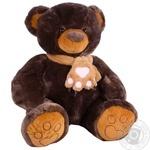 Мягка игрушка Копиця Медвежонок Бублик коричневый в ассортименте