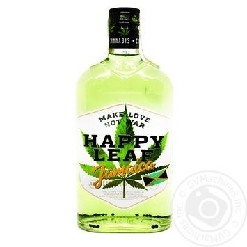 Happy Leaf Jamaica hemp tincture 38% 0,5l - buy, prices for Novus - image 1