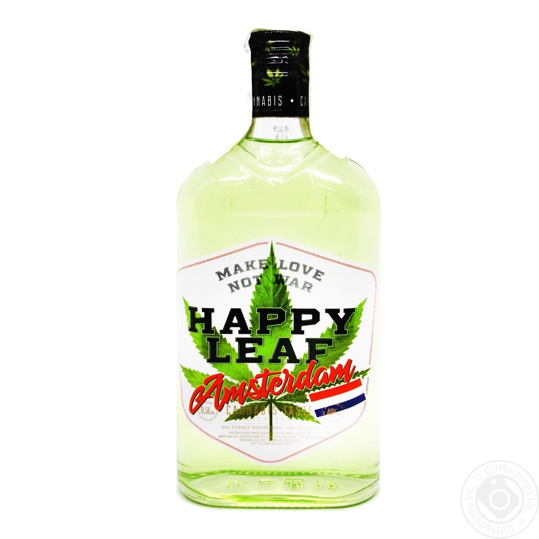 Настойка конопляная Happy Leaf Amsterdam 40% 0,5л