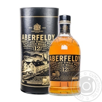 Aberfeldy 12 Yrs Whisky 40% 0,7l - buy, prices for Novus - image 1