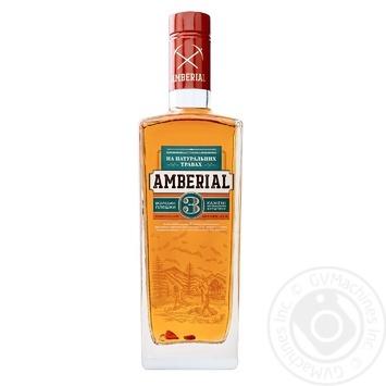 Tincture Aberial 38% 500ml glass bottle Ukraine - buy, prices for Novus - image 1