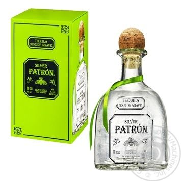 Patron Silver 100% Agave Tequila 40% 0,75l - buy, prices for Novus - image 1
