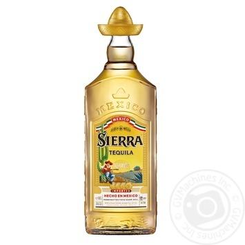 Текила Sierra Reposado 38% 1л