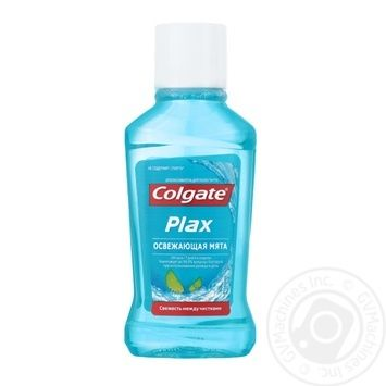 Ополаскиватель для полости рта Colgate Plax Освежающая мята уничтожает бактерии 60мл - купить, цены на Novus - фото 2