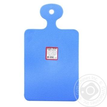 Доска Эталон-С Пикник для резки пластиковая 15,6х27см - купить, цены на МегаМаркет - фото 1