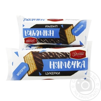 Candy Delicia milk Ukraine