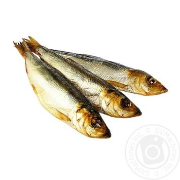 Hot Smoked Baltic Herring with Head