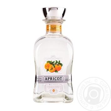 Напиток крепкий плодовый Bolgrad Абрикосовка украинская 40% 0,5л - купить, цены на Фуршет - фото 1