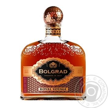 Коньяк Bolgrad Royal Voyage ординарный 5 звезд 40% 0,5л - купить, цены на ЕКО Маркет - фото 1