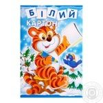 Carton white А4 8 sheets Mizar Ц380006У - buy, prices for Furshet - image 1