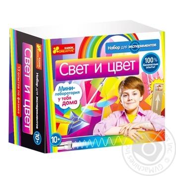 Игра Ranok-Creative Свет и цвет 0322 - купить, цены на Фуршет - фото 1
