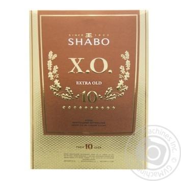 Shabo XO Brandy 40% 0,5l - buy, prices for Furshet - image 1