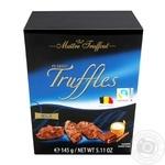 Конфеты Maitre Truffout трюфель пласт с молочным шоколадом 145г
