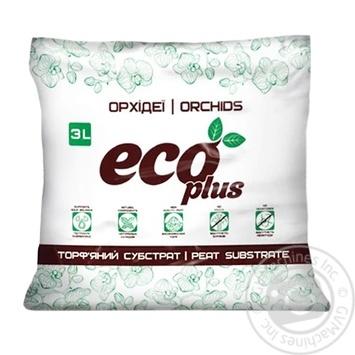 Субстрат Eco Plus орхидеи 3л - купить, цены на Фуршет - фото 1