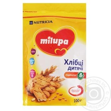 Хлебцы детские Milupa пшеничные 100г - купить, цены на Таврия В - фото 1
