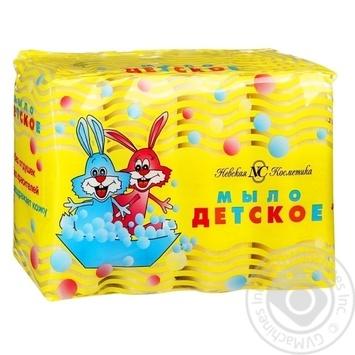 Мыло Невская Косметика детское 4шт 100г - купить, цены на Novus - фото 1
