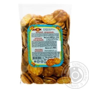 Cracker Biscuit-chocolate Soft 400g sachet Ukraine - buy, prices for Furshet - image 1