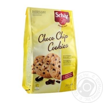 Печенье Dr. Schar Choco Chip без глютена 200г