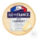 Ile de France Petit Camembert Soft Cheese 50% 125g