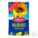 Майонез Олком Провансаль 67% 200г - купить, цены на Novus - фото 1