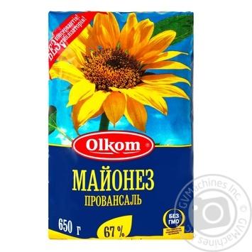 Майонез Олком Провансаль 67% 650г - купить, цены на Novus - фото 1