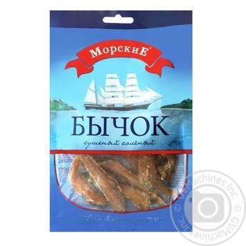 Бичок Морські сушений солоний 35г - купити, ціни на Восторг - фото 1