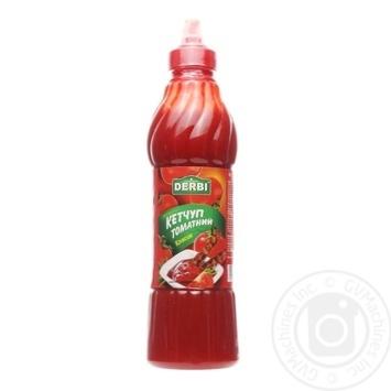 Кетчуп Derbi Классик томатный 830г