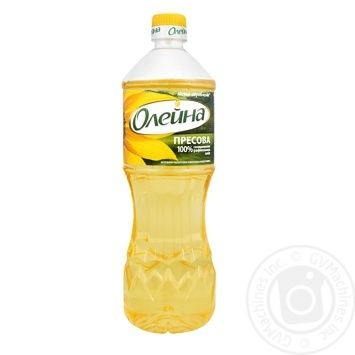 Oleina Traditional refined sunflower oil 850ml - buy, prices for Novus - image 1