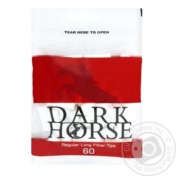 Dark Horse Long Filters 60pcs - buy, prices for MegaMarket - image 1