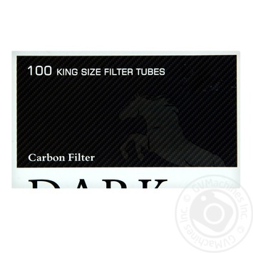 Гильзы Dark Horse Carbon 100шт - купить, цены на Восторг - фото 1