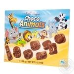 Шоколад Maitre Truffout Choco Animals молочный 100г