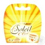 Станок BIC Soleil Clic для бритья 4шт