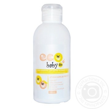Acme-color Eco Baby 0+ Gel Shampoo with Chamomile and Wheat 250ml