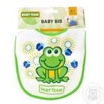 Нагрудник Baby Team на завязках