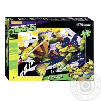 Пазлы Step Puzzle Черепашки Ниндзя 80 элементов в ассортименте - купить, цены на Фуршет - фото 1