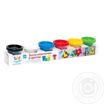 Genio kids Dough-plasticine 6 colors - buy, prices for MegaMarket - image 1