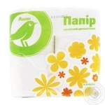 Auchan Toilet Paper Two-Layer Cellulose White 4pcs