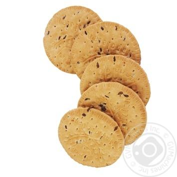 Печенье сахарное с льном