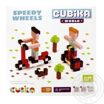 Конструктор Левеня Cubika World 15290 - купити, ціни на Фуршет - фото 1
