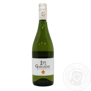 Вино Cheval Quancard Lys de Gascogne белое сухое 0,75л