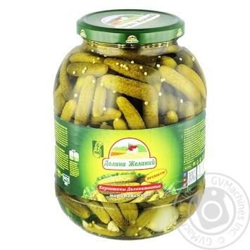 Dolina jelaniy pickled cucumber 1415ml - buy, prices for Novus - image 1