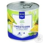 Кукуруза сахарная METRO Chef вакуумированная 425мл - купить, цены на Метро - фото 1