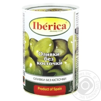 Iberica Pitted Green Olives 420g - buy, prices for Novus - image 1