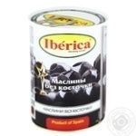 Iberica Large Boneless Black Olives 420g - buy, prices for Metro - image 1