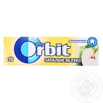 Жув. гумка Orbit Яблуко