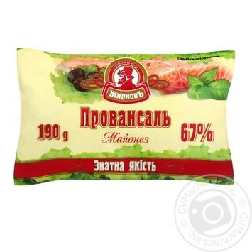 Майонез Жирновъ Провансаль 67% 190г