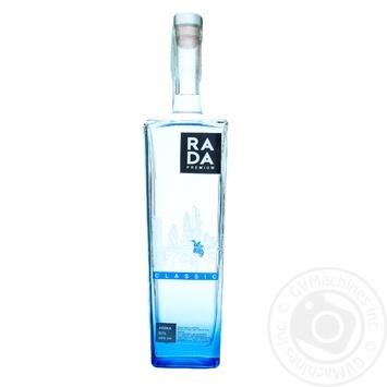 Водка классическая Rada 40% 0.7л